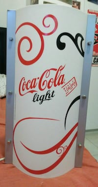 Lampada coca cola light originale