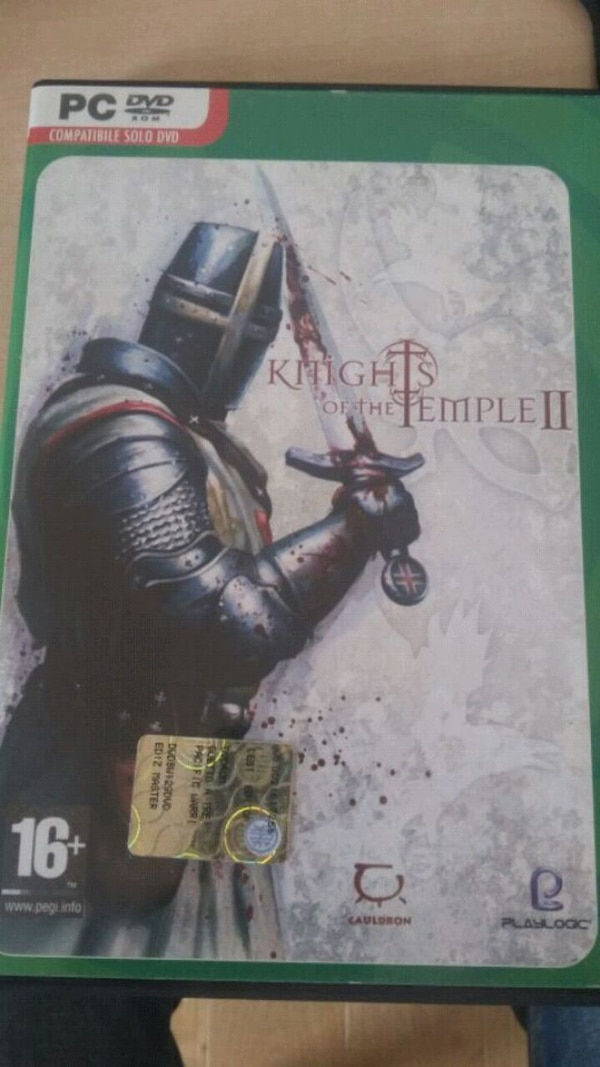Caso PC DVD Knights of the Temple 2