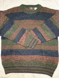 The Italian Sweater Co. Orange Blue and Green Stripes Reisterstown, 21136