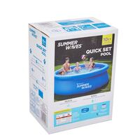 """Summer Waves 10' x 30"""" Quick Set Ring Pool"""