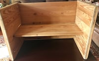 """Kids solid wood bench 31"""" wide 21"""" tall Rockville, 20850"""