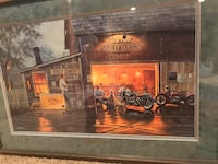 "David Barnhouse - Harley Davidson ""King Of The Road"" Limited Edition, Numbered Print -1333/1500 Verona, 53593"