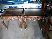 two brown wooden side tables Lubbock, 79411