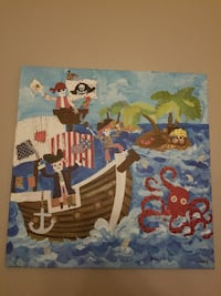 Pirate painting Fort Mill