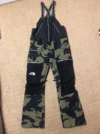 North Face Ceptor Bib Snow Pant Medium