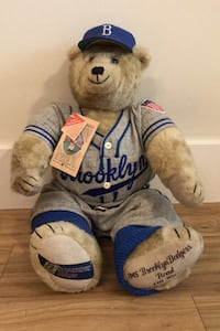 Cooperstown Bears Brooklyn Dodgers Ltd Edition Bear