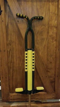 Black& Yellow Pogo Stick New York, 10031