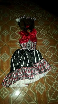 red, black, and white floral dress Brawley, 92227