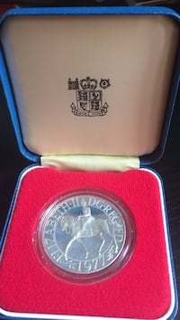 round silver commemorative coin Vaughan, L6A