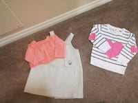 toddler's three assorted clothes Edmonton, T5X 3R1