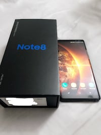 Selling Samsung Note 8 64gb Black - $700 Toronto