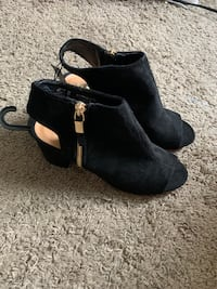 Brand new black booties