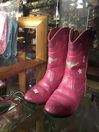 Pair of  cowgirl boots
