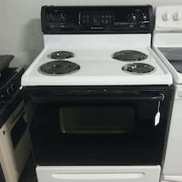 black and white electric coil oven Springdale, 72764