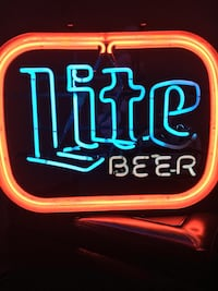 Lite beer neon sign  Newton, 02458