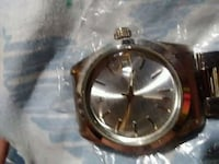 round silver-colored analog watch with link bracelet Chesnee, 29323