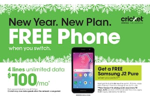Switch & Save today with Cricket Wireless