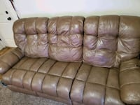 Leather couch Layton, 84041