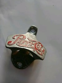 Rare Pepsi-Cola wall-mounted bottle opener Des Moines, 50316