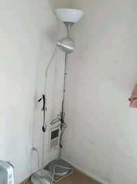silver and white floor lamp Glenview, 60026