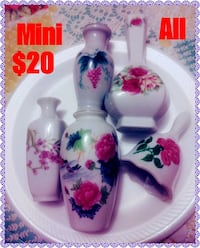Porcelain Mini  Collectables all for $20 Corpus Christi, 78415