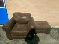 Leather Chair and ottoman New Tecumseth, L9R 1C3