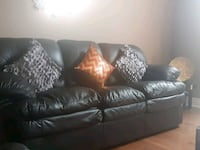 Genuine 3 peice Brick Leather Sofa  Bowmanville, L1C 5P7