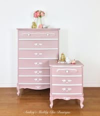 Adorable French Dresser Set