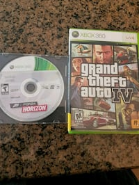 two Xbox 360 game cases 541 km