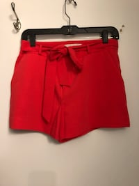 Women's red high waisted shorts Toronto, M5A 0H4