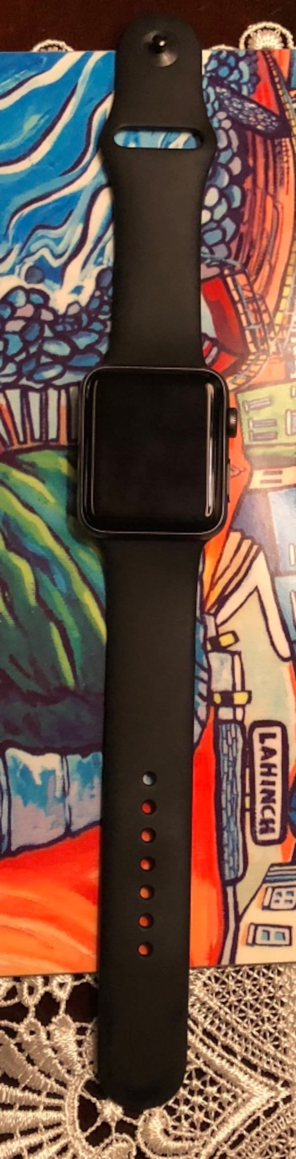 Apple Watch Series 3 42mm LTE space gray