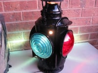 RAILWAY, CPR, VINTAGE, SIGNAL or TAIL-LIGHT, $150.00 Firm. Toronto