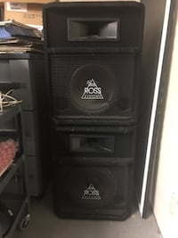 "PA Speakers 12"" and Horn Port Moody, V3H"