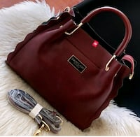 women's red leather tote bag Faridabad, 121001