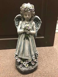 """Angel Holding Flowers 20"""" x 9"""" Barrie, L4N 5S6"""