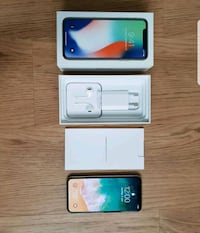IPhone X 256Gb Grau 6406 km