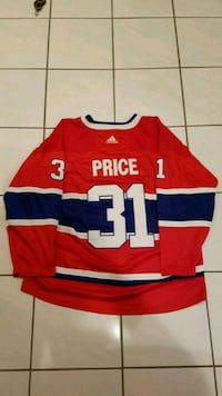 Carey Price Montreal Canadiens Jersey Vaughan