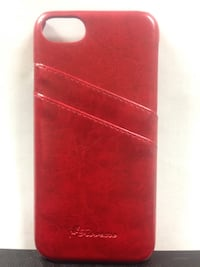 red luxury card slot leather back case for IPhone 7 Simcoe, N3Y 3V5