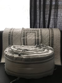 Crib covers Pottery barn Harper collection  Vaughan, L4K