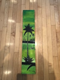 Green and black palm tree canvas Vaudreuil-Dorion, J7V 9J6