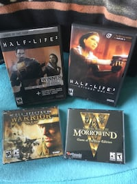 Assorted cool PC computer gaming  /  3 Games left Morrowind is sold now  Alexandria, 22311