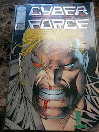 Cyberforce comic book by image Edition 4