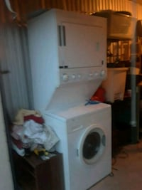 white front-load clothes washer 85 mi