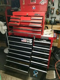 red and black tool chest Avoca, 18641