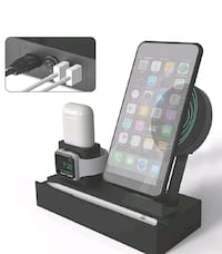 Wireless Charger Station, 8 in 1 Charging Stand ???? Brand New Skokie, 60077