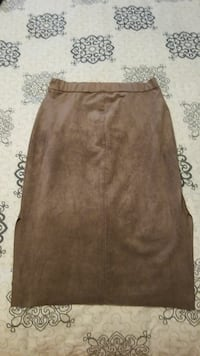 women's brown midi skirt Surrey, V3X 0A1