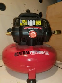 red and black Craftsman air compressor Seattle, 98146