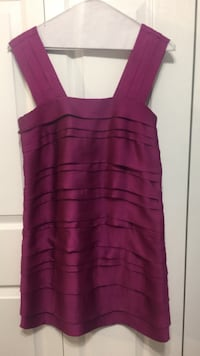 Purple sleeveless mini dress prom summer wedding Edmonton, T5T 1Y6