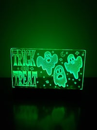 Halloween  Trick or Treat light up bag null