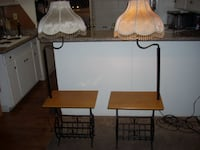 table lamps with magazine rack Modesto